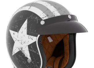 CKX Origin Pilot Open Face Helmet