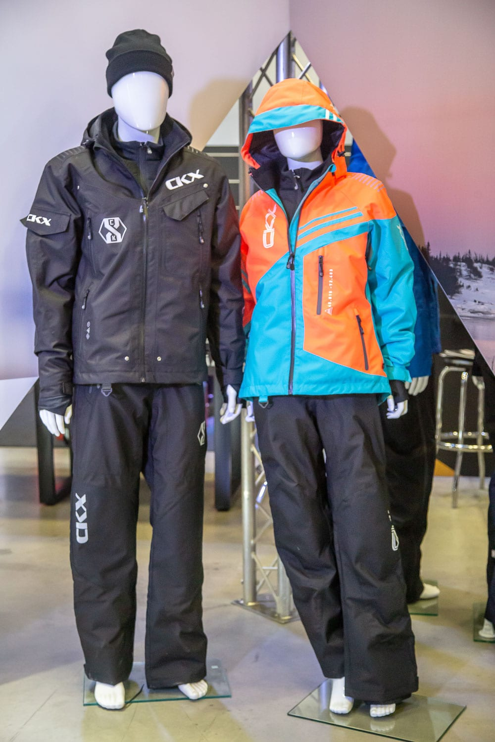 Experiment Winter with CKX