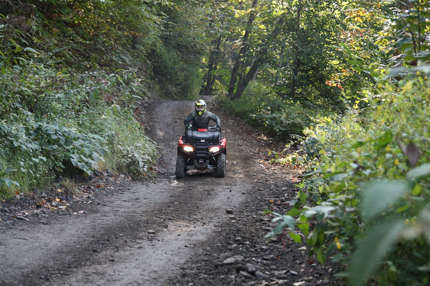 Are you adequately covered to ride on the trails