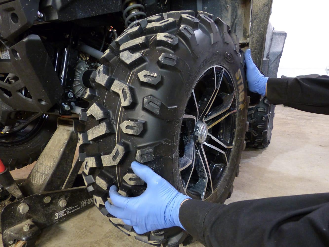 ATV Pre-ride check
