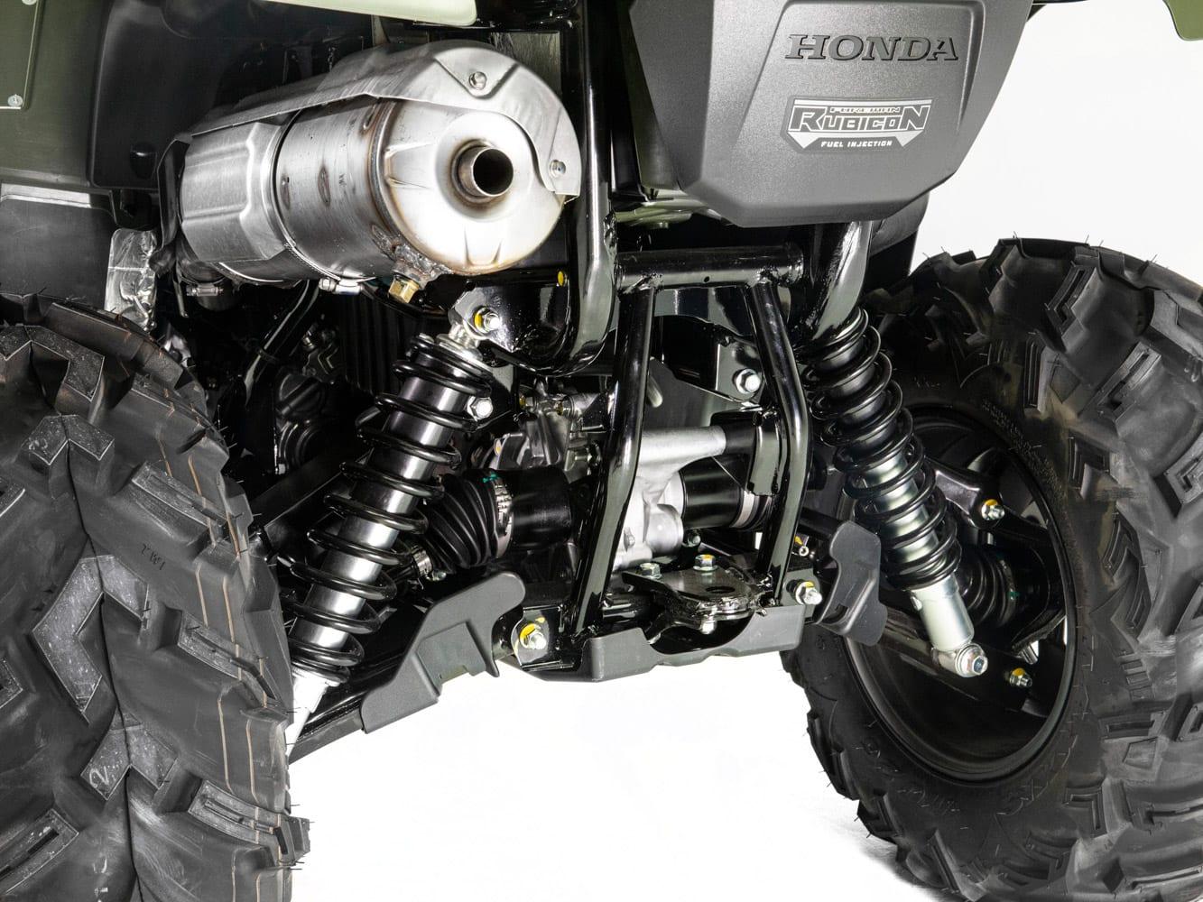 2020 Honda TRX520 Foreman Rubicon DCT Review