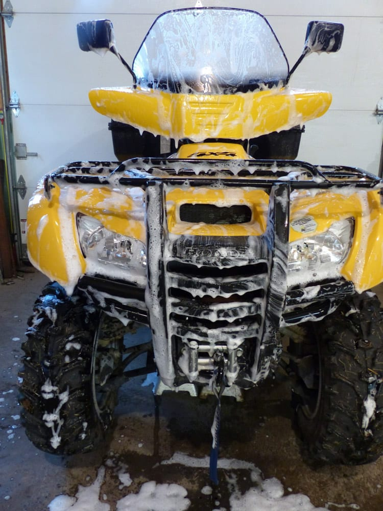Winterizing and storing your ATV in 9 steps