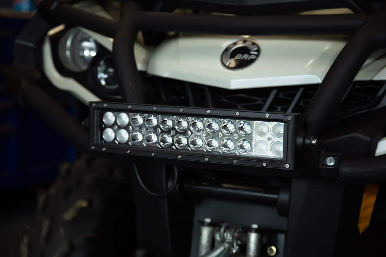 LED Bar Installation