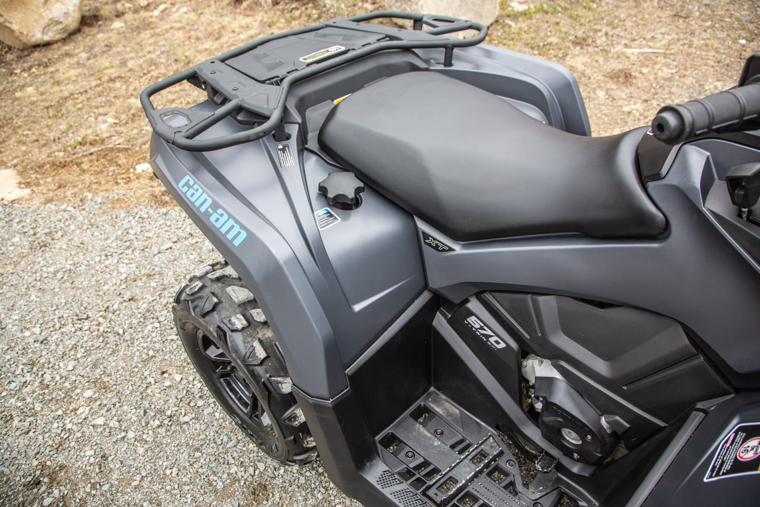 2020 Can Am Outlander 570 First Ride